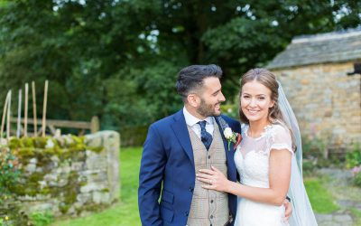 Seb & Rosie – Tent Wedding, Yorkshire