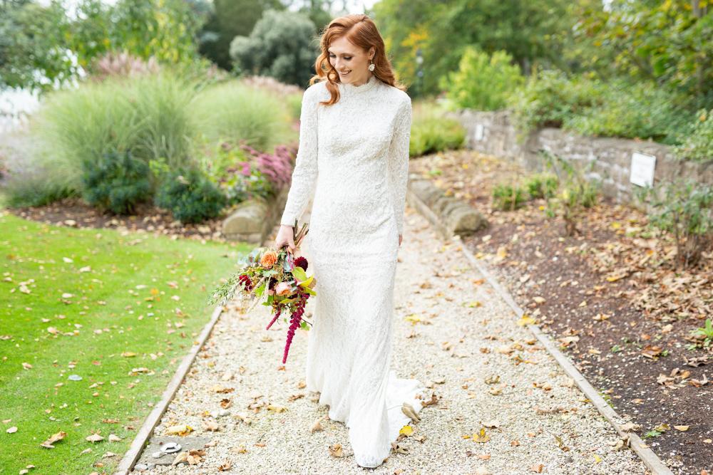Bowcliffe Hall Wedding | Bowcliffe Hall wedding photographer, red haired bride | Natasha Cadman Photography | Modern wedding photography