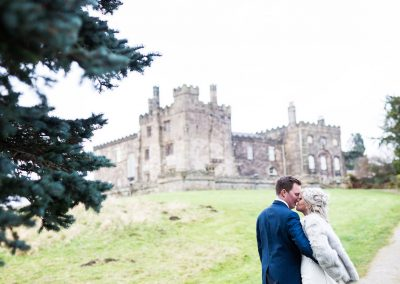 Manor house wedding Ripley Castle