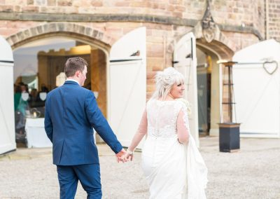 Manor house wedding Ripley Castle