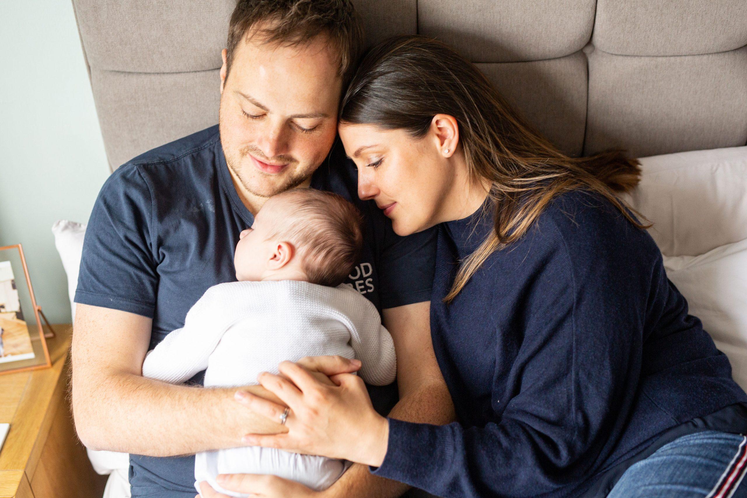 Newborn family shoot York